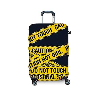BG Berlin 行李箱套-黃色警示 XL