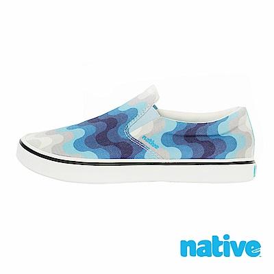 native MILES DENIM 男/女鞋-蔚藍浪潮單寧款