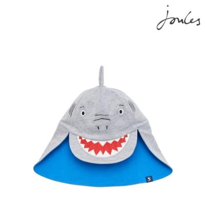 英國【Joules】SUNFUN可愛鯊魚遮陽帽