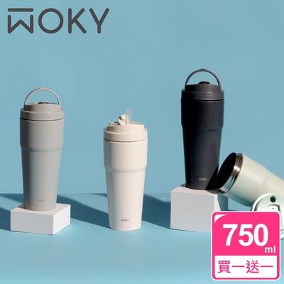 WOKY買1送1激凍輕芯鈦瓷杯
