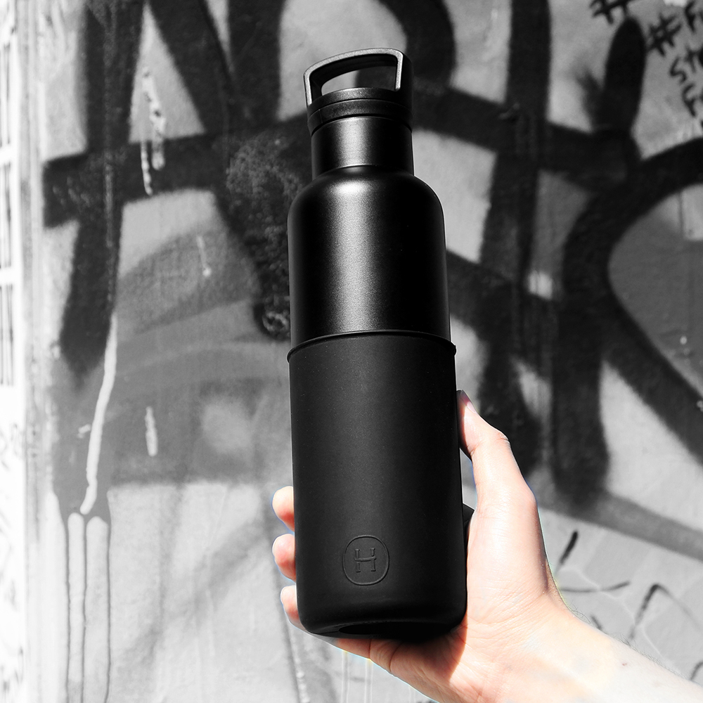 [時時樂限定]HYDY保溫瓶_CinCin Black黑瓶590ml(六色)