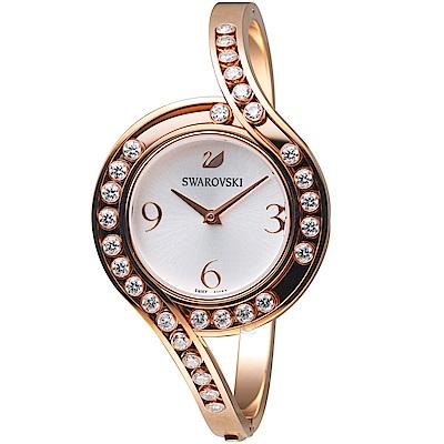 SWAROVSKI施華洛世奇CRYSTALS LOVELY時尚腕錶(5452489)玫瑰金
