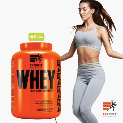 【捷克EXTRIFIT】WHEY 100%即食乳清蛋白粉-香草口味(2kg)