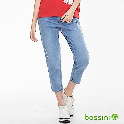 bossini女裝-ZtayCool冰涼牛仔褲01藍