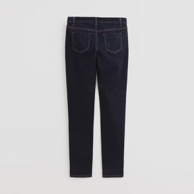 Hang Ten -經典修身牛仔窄褲 - 深藍