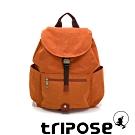tripose MEMENTO系列微皺尼龍經典輕量後背包(大)鮮橙橘