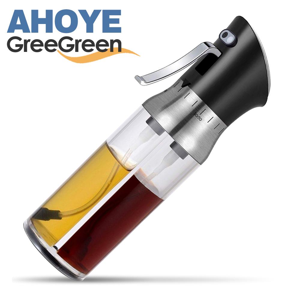 GREEGREEN 2in1調和式油醋雙噴瓶