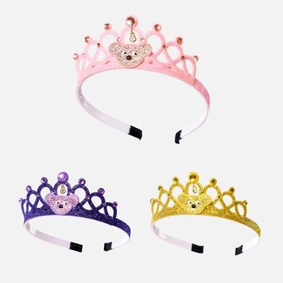 WHY AND 1/2 皇冠造型髮箍 多色可選