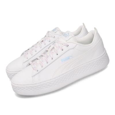 Puma 休閒鞋 Smash Platform 運動 女鞋