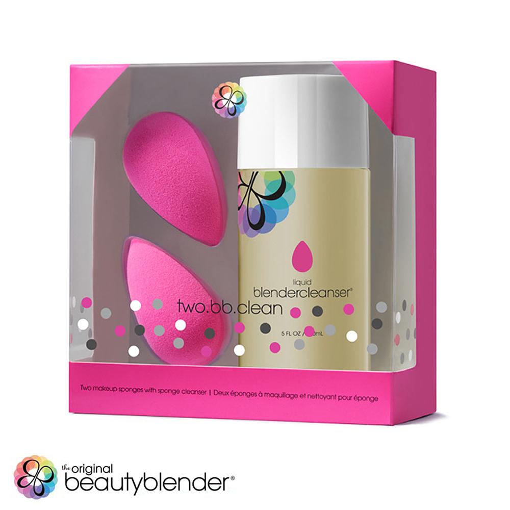 beautyblender 超值限定組合-原創粉x2+清潔液150mlx1