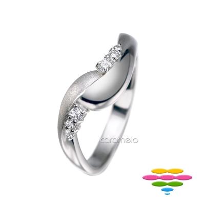 彩糖鑽工坊 鑽石戒指 KISS系列
