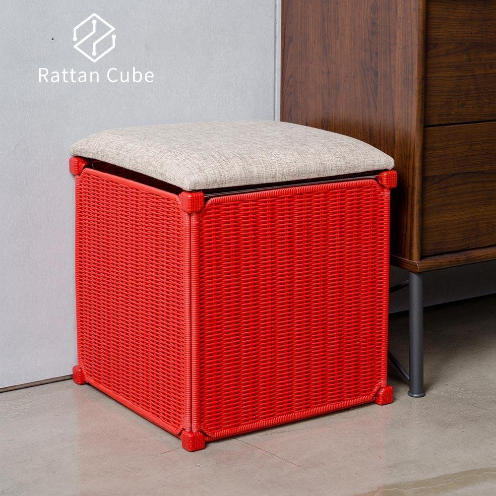 【藤立方】組合收納椅凳-DIY