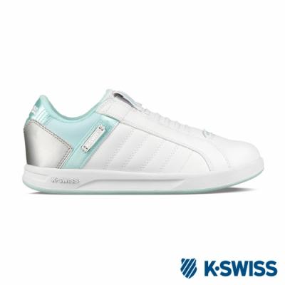 [零碼出清]K-SWISS Lundahl Slip-On S CMF運動鞋-女-粉綠