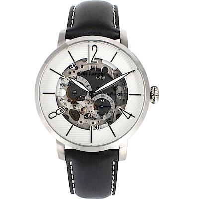 姬龍雪Guy Laroche Timepieces鏤空機械錶(GW2009C-10)