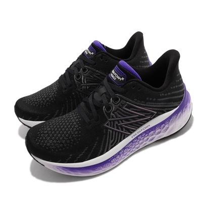 New Balance 慢跑鞋 Fresh Foam X Vongo 女鞋 紐巴倫 五代 寬楦 緩震 輕量 耐用 黑 紫 WVNGOBW5-D