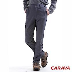 CARAVA男款保暖軟殼褲(深灰)