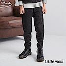 Little moni 拼接內抓绒長褲(共2色)