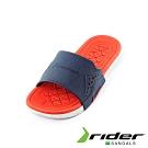 Rider 經典休閒造型拖鞋 兒童款 深藍