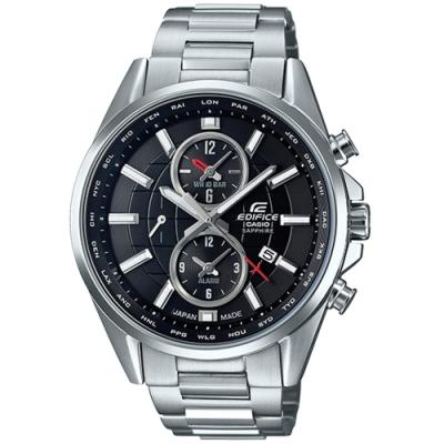 CASIO卡西歐 經典黑色大錶面腕錶(EFB-302JD-1A)