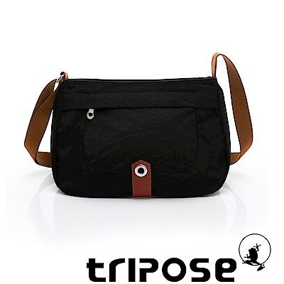 tripose 微旅系列淑女側肩包 黑色