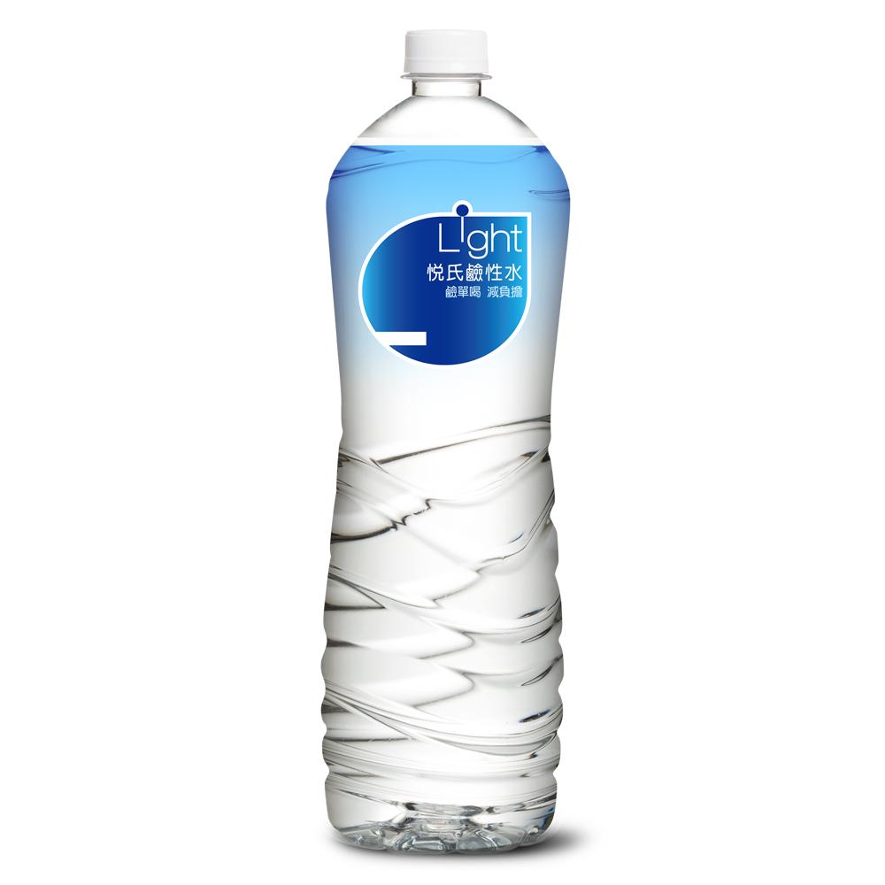 悅氏 light鹼性水(1450mlx12瓶)