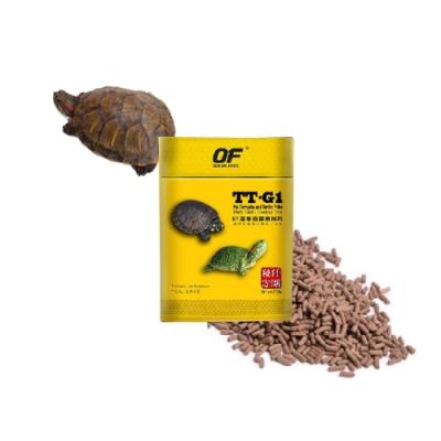 新加坡OF仟湖 - TT-G1 傲深專業龜御用飼料250g 小顆粒/大顆粒