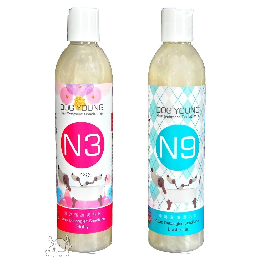 DogYoung多漾 天然花植萃護毛潤毛乳 330ml 2罐組