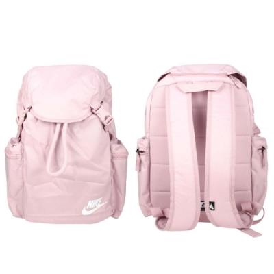 NIKE 大型後背包-肩背包 雙肩包 筆電包 15吋筆電 束口 BA6150-516 粉紫白