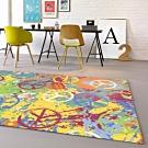 范登伯格 - 寶麗 現代地毯 - 塗鴉 (117 x 170cm)