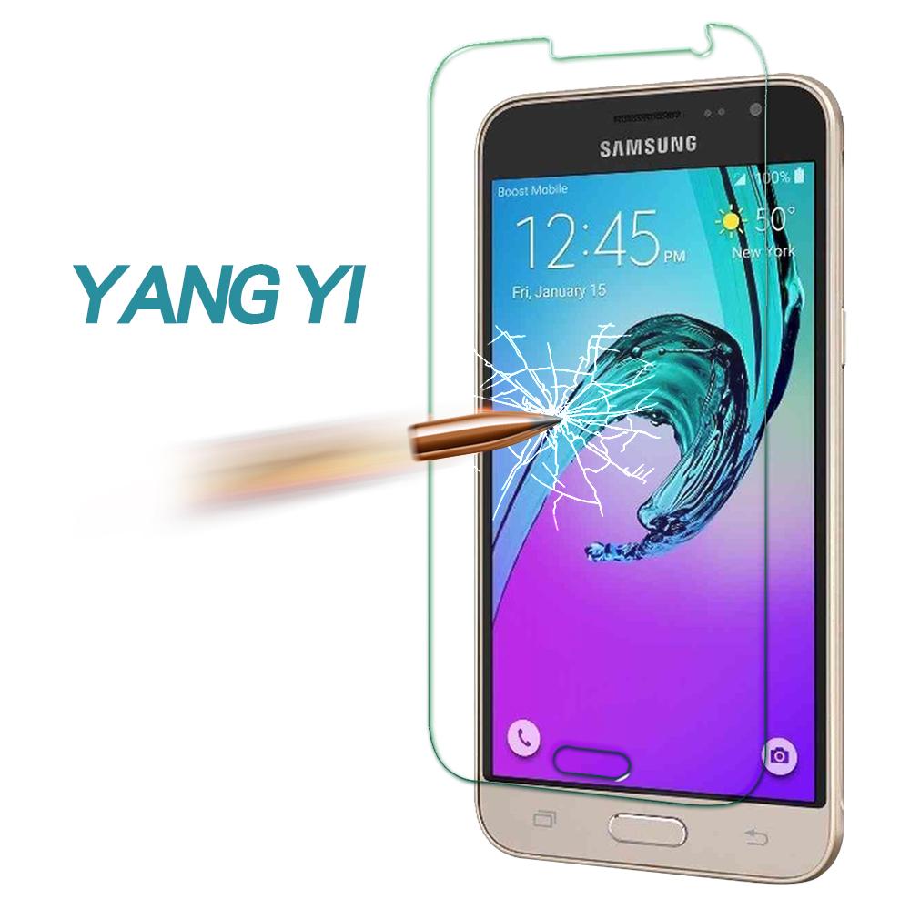 YANG YI 揚邑 Samsung J3 2016版 防爆防刮 9H鋼化玻璃保護貼