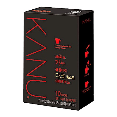 KANU 美式黑咖啡-深度烘焙(16g)