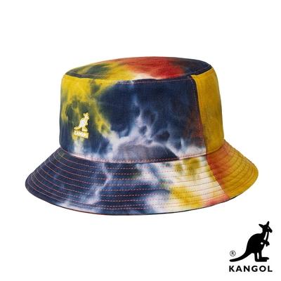 KANGOL-TIE DYE 漁夫帽-金黃色