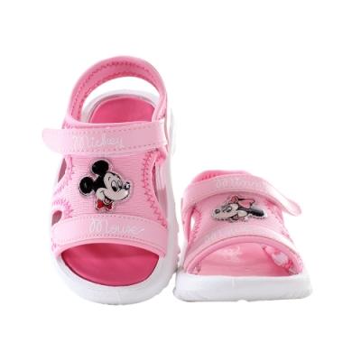 魔法Baby 女童鞋 台灣製迪士尼米妮正版休閒運動涼鞋   sd3190