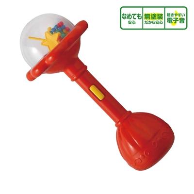 日本People-魔法握把沙鈴(0m+)(安撫玩具/咬舔玩具/塑膠袋聲音/沙沙聲)