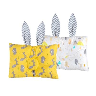 Muslin Tree兔耳朵造型嬰兒枕 多功能枕頭 定型枕
