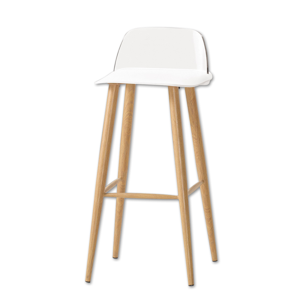 Bernice-華森簡約休閒吧台椅/高腳椅(三色可選)-二入-41x41x91cm