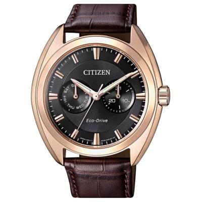 CITIZEN 星辰 Eco-Drive 光動能都會時尚腕錶(BU4018-11H)
