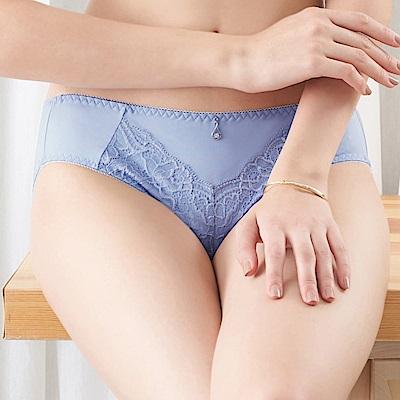 推EASY SHOP-奢意夢境 中腰三角褲(柔情藍)