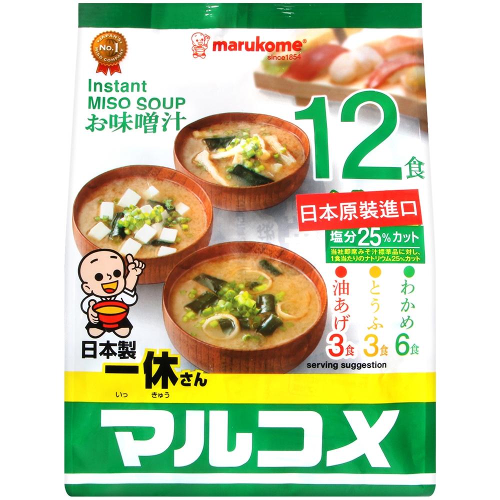 料亭之味元氣味噌湯(輕食)(186g)