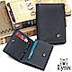 Lynx - 美國山貓藍調紳士進口牛皮系列2卡名片短夾-藍色 product thumbnail 1