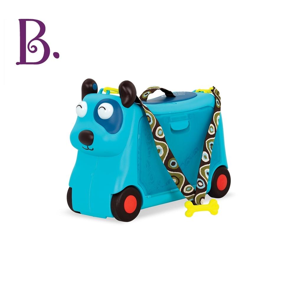 美國【B.Toys】小獵犬沃菲行李箱