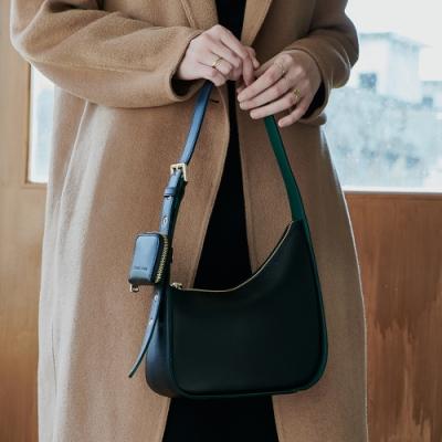 【Elegance】TOULOUSE 側背包-黑色