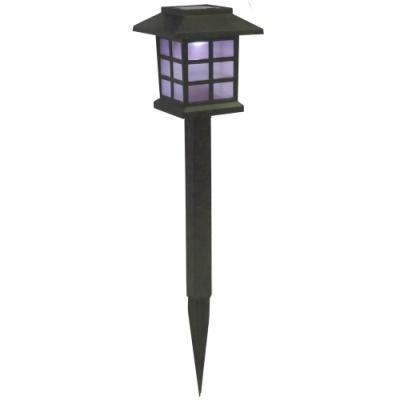 月陽日式七彩光太陽能自動光控LED庭園燈草坪燈插地燈(JP5025C)