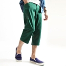 休閒七分褲Chino褲素褲(1色) ZIP日本男裝
