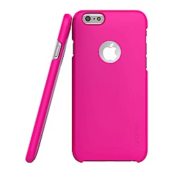 Araree iPhone 6 超薄感應卡保護殼-桃紅色