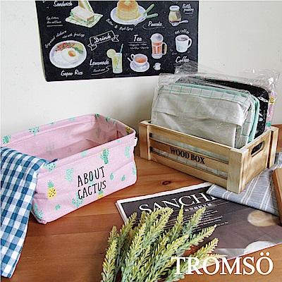TROMSO陽光仙人掌-棉布小收納籃