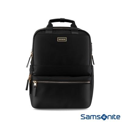 Samsonite新秀麗 AQUARIUS防潑大容量女用筆電後背包 14