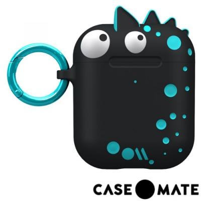 美國 CASE●MATE AirPods 可愛怪物保護套 - 天真無邪的史派克 - 黑色