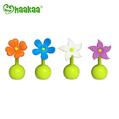 任選 紐西蘭Haakaa 小花瓶塞 第二代真空吸力小花集乳器配件