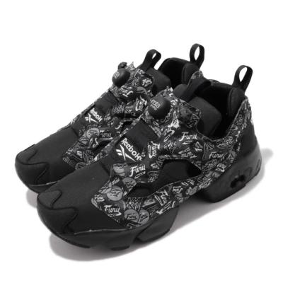 Reebok 休閒鞋 Instapump Fury OG 充氣 男鞋 輕量 舒適 流行穿搭 黑 白 EF7948